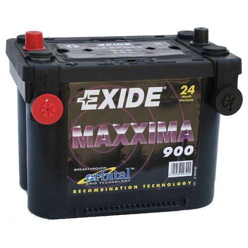 exide maxxima 900 12v 50ah dual agm starterbatterie neu. Black Bedroom Furniture Sets. Home Design Ideas