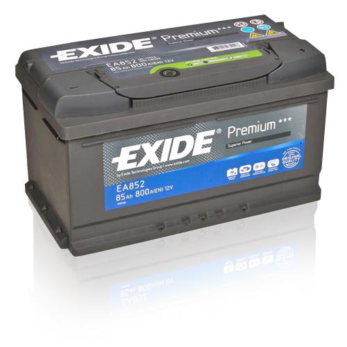 xyz ea900 exide premium starterbatterie 12v 90ah. Black Bedroom Furniture Sets. Home Design Ideas