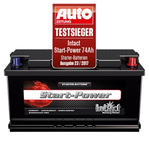 intact start power 60044 100ah 12v 850a starterbatterie. Black Bedroom Furniture Sets. Home Design Ideas
