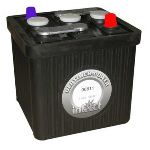 classic car battery 6 volt 66 ah starterbatterie for classic car 06611 ebay. Black Bedroom Furniture Sets. Home Design Ideas