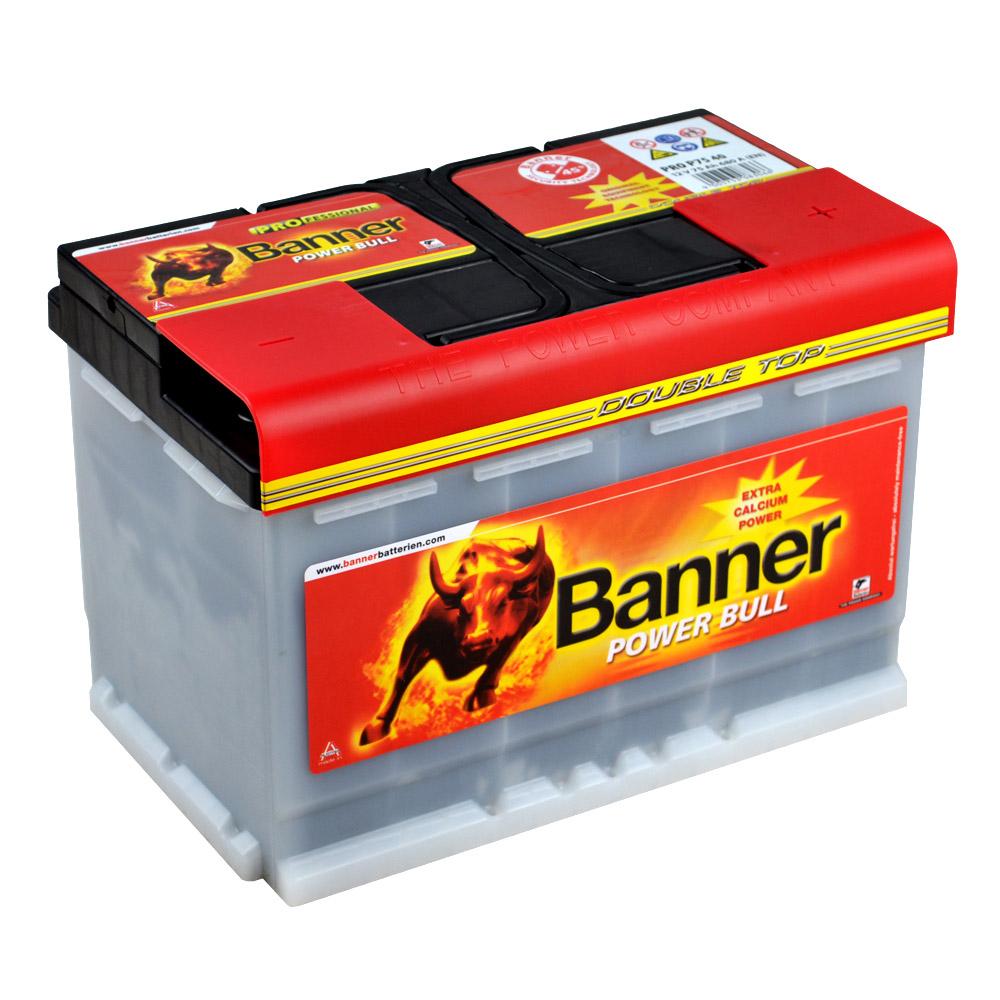 banner power bull pro p7740 12v 77ah premium battery. Black Bedroom Furniture Sets. Home Design Ideas