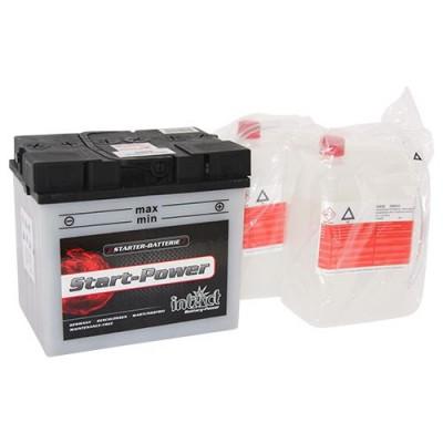 Intact 12V 30Ah 53030 Motorrad-Batterie C60-N30L-A