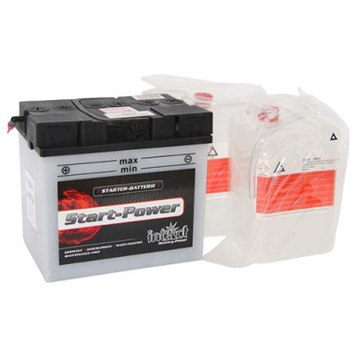 Intact 30Ah 12V Rasentraktorbatterie 53034