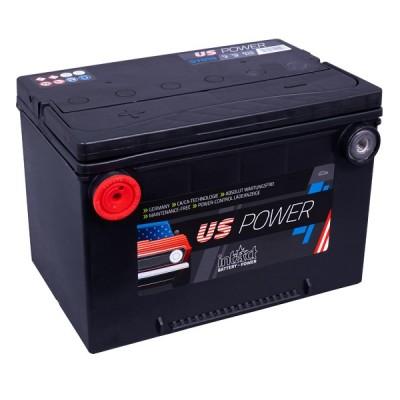 intact us power 70ah 12v 510a autobatterie 57010 pluspol links. Black Bedroom Furniture Sets. Home Design Ideas