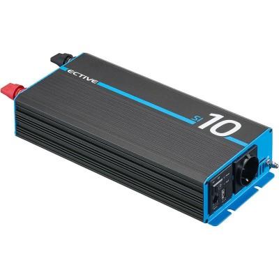 Ective SI102 12V 230V reiner Sinus Wechselrichter 1000W