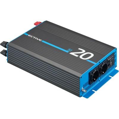 Ective SI202 12V 230V reiner Sinus Wechselrichter 2000W