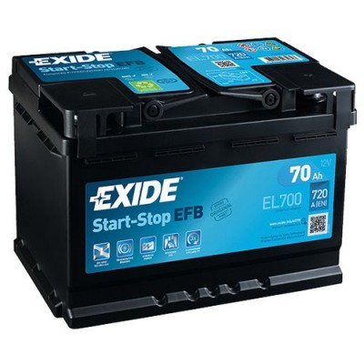 Exide EFB 70Ah EL700