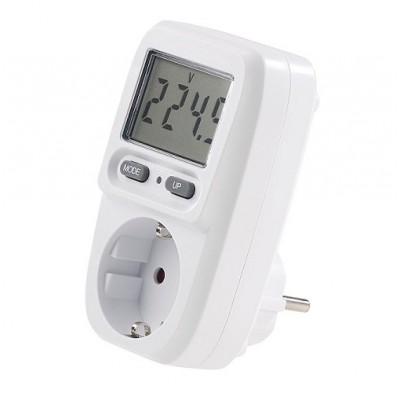 Digitaler Stromzähler und Energiekosten-Messgerät