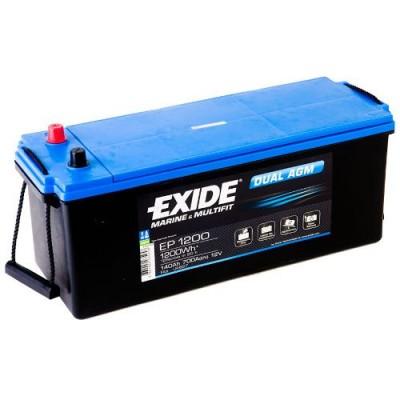 Exide EP1200 Dual AGM 140Ah