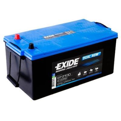 Exide EP2100 Dual AGM 240Ah