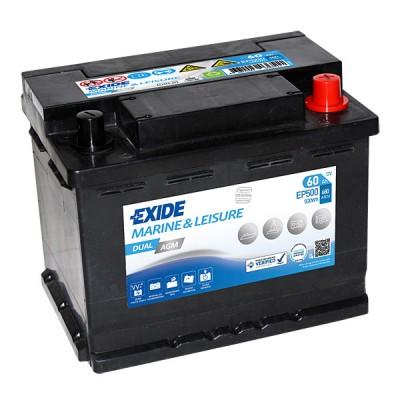 Exide EP500 Dual AGM