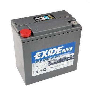 Exide G14 12V 14Ah YTX14-BS Motorradbatterie Gel FA