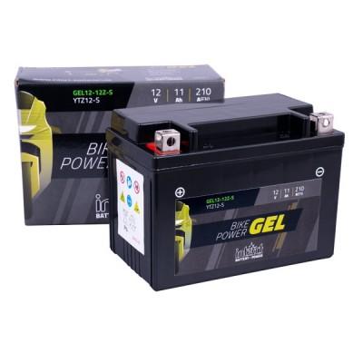Intact 12V 11Ah 12-12Z-S, YTZ12-S Motorradbatterie 51121 Gel FA