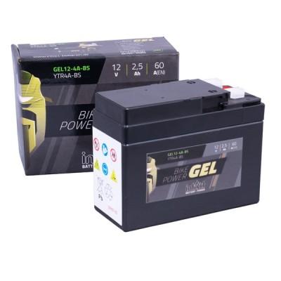 Intact 12V 2,5Ah YTR4A-BS Roller Batterie Gel FA