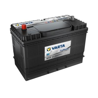 Varta ProMotive Heavy Duty 105Ah 12V H17 (Black) LKW-Batterie