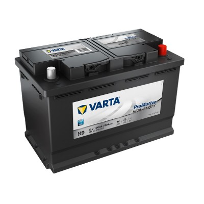 Varta ProMotive Heavy Duty 100Ah 12V H9 (Black) LKW-Batterie