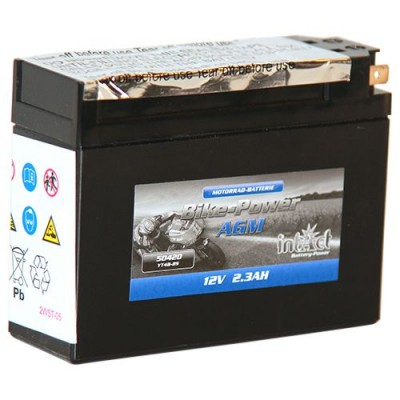 Intact Roller Batterie 12V 2,3Ah YT4B-BS 50420 AGM