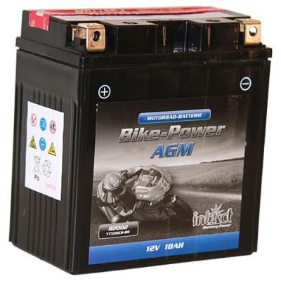 Intact 12V 18Ah YTX20CH-BS Motorradbatterie AGM 82002