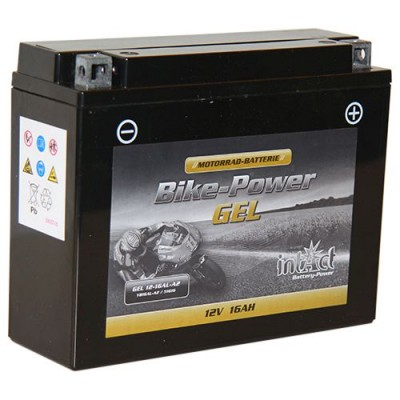 Intact 12V 16Ah 12-16AL-A2, YB16AL-A2 Motorradbatterie 51616 Gel FA
