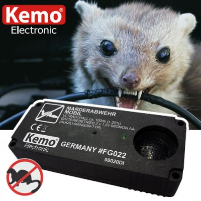 Mobile Ultraschall Marderabwehr Kemo FG022