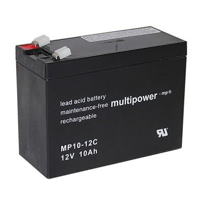 Multipower MP10-12C 12V 10Ah zyklisch