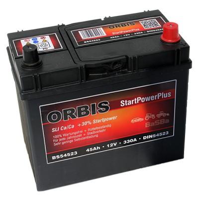 Orbis BS54523 StartPowerPlus Autobatterie 45Ah