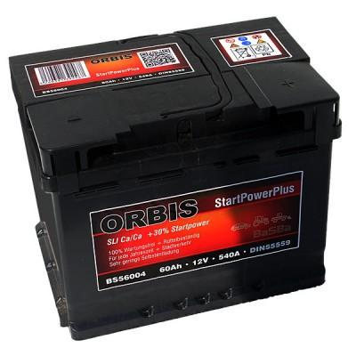 Orbis BS56004 StartPowerPlus Autobatterie 60Ah