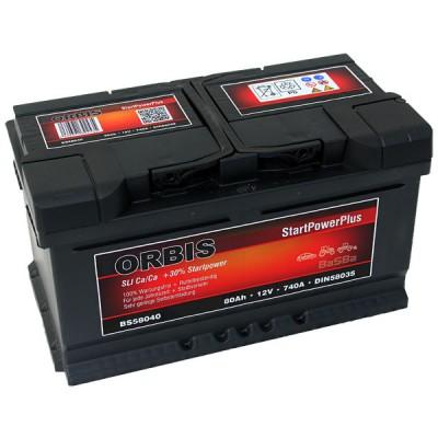 Orbis 80Ah 740A Autobatterie BS58040