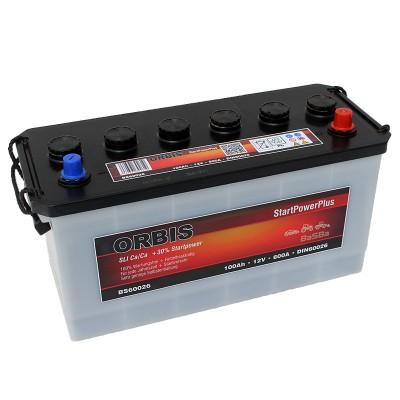 Orbis BS60026 12V 100Ah 600A HD LKW Batterie