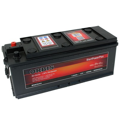 Orbis BS63544 12V 135Ah 1000A HD LKW Batterie