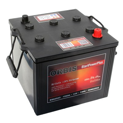 Orbis BS62523 12V 125Ah 740A Nato HD LKW Batterie