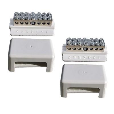 Schraub-Schienenpaar für Batterien-Parallelschaltung von 2 bis 4 Batterien