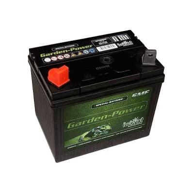 Rasentraktor Batterie 12V 24Ah Pluspol links