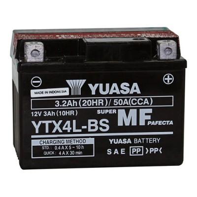 Yuasa YTX4L-BS AGM Roller Batterie