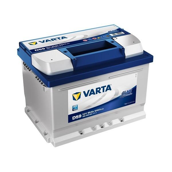 varta d59 blue dynamic 560 409 054 autobatterie 60ah. Black Bedroom Furniture Sets. Home Design Ideas
