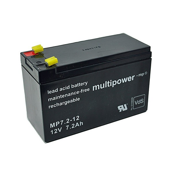 Multipower MP7.2-12 (12 Volt 7.2 Ah)