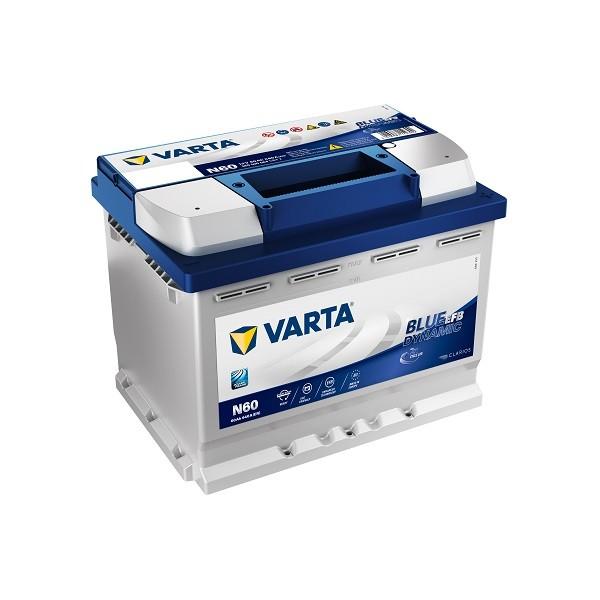 varta n60 blue dynamic efb 560 500 064 autobatterie 60ah. Black Bedroom Furniture Sets. Home Design Ideas