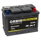 Orbis BG70DC Gel Batterie 70Ah VRLA