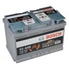 Bosch S5 A08 AGM-Batterie 70Ah 750A