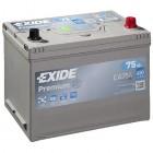 Exide EA754 Premium 75Ah Autobatterie