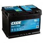 Exide AGM 70Ah EK700 Autobatterie