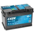 Exide EFB 65Ah EL652 Start-Stop Autobatterie