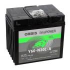 Orbis 12V 30Ah GEL Y60-N30L-A 53030 Motorradbatterie