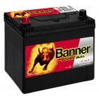 Banner P6069 Power Bull 60Ah 510A Autobatterie Pluspol links