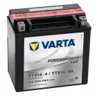 Varta Powersports AGM YTX14-4 YTX14-BS Motorradbatterie 12V 12Ah