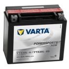 Varta Powersports AGM YTX20L-4 YTX20L-BS Motorradbatterie 12V 18Ah