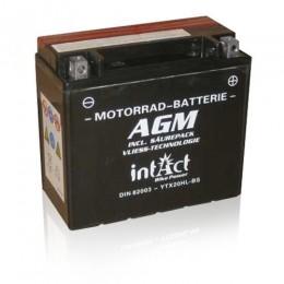 Intact Bike-Power AGM 82003 YTX20HL-BS Motorradbatterie 12V 20Ah