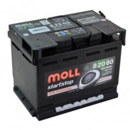 Moll EFB 82060 60Ah Start Stop Autobatterie