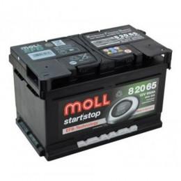 Moll EFB 82065 65Ah Start Stop Autobatterie