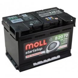 Moll EFB 82070 70Ah Start Stop Autobatterie